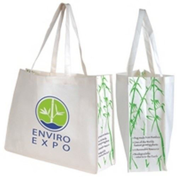 Picture of Giant Bamboo Carry Bag With Double Handles-100 Gsm