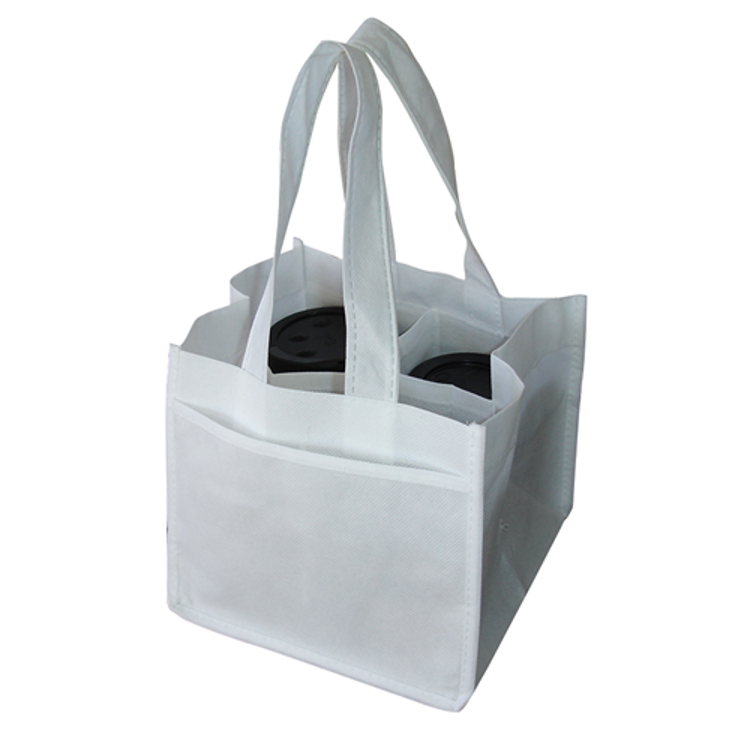 Picture of NON WOVEN 4 COFFEE CUPS BAG